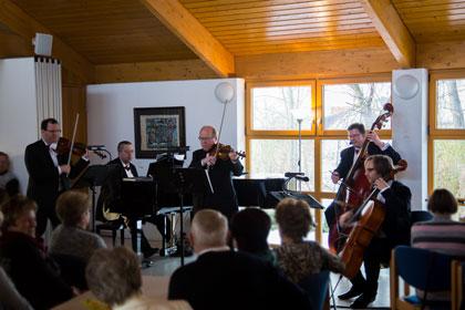 Musiker des Ensembles Salon de Saxe