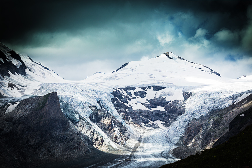 Gross Glockner Gletscher