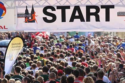 Start beim Marathon